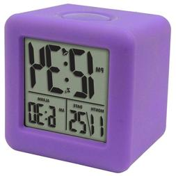 Soft Purple Rubber Cube Case 3-1/4 in. x 3-1/4 in. LCD Digit