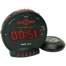 SONIC ALERT Sonic Alert Sonic Bomb Alarm Clock With Super Sh