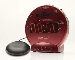 Sonic Bomb Loud Dual Alarm Clock with Vibrating Bed Shaker R
