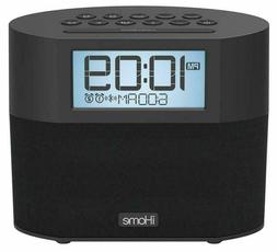 sound design ibt231b ihome bluetooth dual alarm