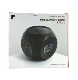 sound machine stars projection alarm clock digital