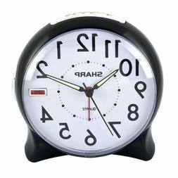 Sharp Spc127A Quartz Analog Alarm Clock