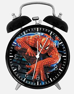 "New Spiderman Alarm Desk Clock 3.75"" Room Decor X01 Will Be"