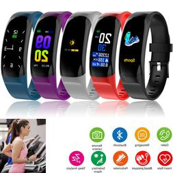 Sport Fitness Tracker Bluetooth Smartwatch Bracelet Wristban