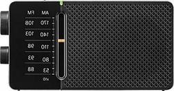 Sangean Sr-36 Am/fm Pocket Radio With Dsp Tuning.