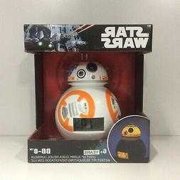 Star Wars BB-8 Light Up Alarm Clock - BNIB