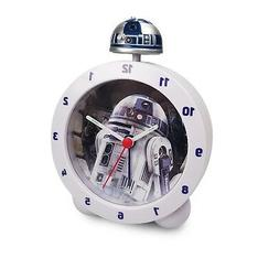 Star Wars R2-D2 Alarm Clock - Lights up with authentic R2D2