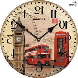 stylish round wall font b clock b