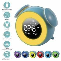 "Sunrise Alarm Clock 5"" Dimmable LED 7 Color Light for Kids G"