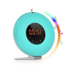 Sunrise Alarm Clock - Joyful Heart Best Wake Up Light with 7