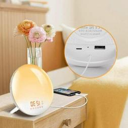 Sunrise Alarm Clock * Lamp* Snooze Function for Kids* Adults