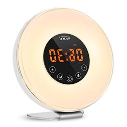 INLIFE Sunrise Alarm Clock, Wake Up Light Sunrise Simulation
