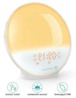 HeimVision Sunrise Alarm Clock,  Smart Wake up Light Sleep..