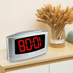 SUPER Extremely Extra Loud LED Alarm Clock for Heavy Sleeper