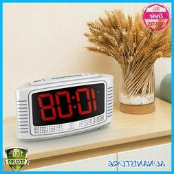 SUPER Extremely,Extra Loud LED Alarm Clock for Heavy Sleeper