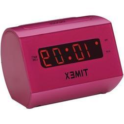 Timex T126 Large Display LED Alarm Clock