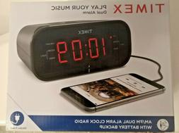 Timex T231 alarm clock+ORIGINAL SAMSUNG HEADPHONES + 2 JVC g
