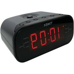 TIMEX T231GY2 AM/FM Dual Alarm Clock Radio with Digital Tuni