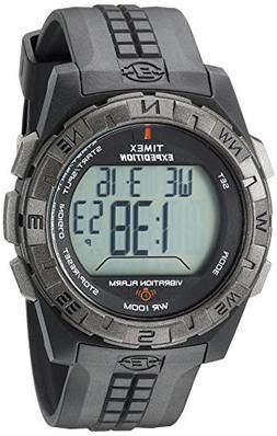 Timex Men's T49851 Expedition Vibration Alarm Black Resin St