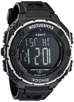 Timex Men's T49950 Expedition Shock XL Vibrating Alarm Black