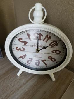Table Clock Mute Desk Silent Clock Table Watch for Dormito