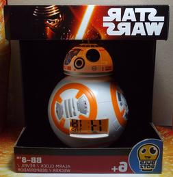 STAR WARS THE FORCE AWAKENS BB-8 ALARM CLOCK BULB BOTZ NEW I