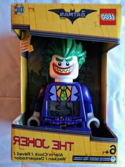 The Joker Lego Alarm Clock DC Comics The Batman Movie Lego J