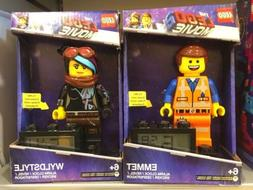 The LEGO Movie 2 Emmet and Wyldstyle Voice And Light Up Digi