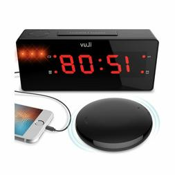 Time Shaker Boom Wireless Bed Alarm Clock