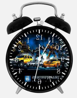 "Transformers Alarm Desk Clock 3.75"" Home or Office Decor W22"