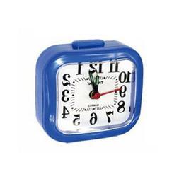 travel alarm clock battery operated analog night
