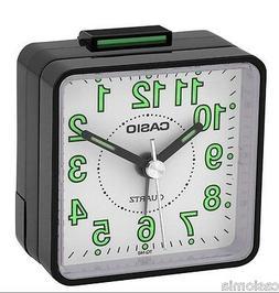 Casio Traveller's Beeper Sound Black Alarm Clock TQ140-1B
