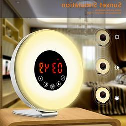 Lcd Triple Display Alarm Clock With Dual Usb Charging **FAST