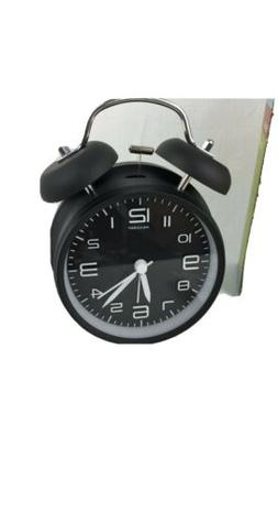 Peakeep - Twin Bell Alarm Clock -Battery Operated Loud Alarm