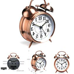 "Peakeep 4"" Twin Bell Alarm Clock"