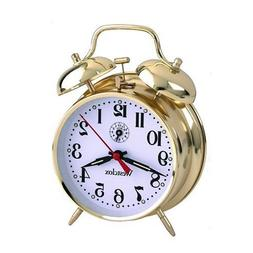 Twin Bell Keywound Alarm Clock