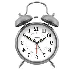 twinbell quartz analog alarm clock