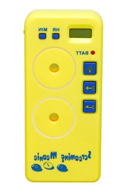 Screaming Meanie TZ-120 Alarm Timer Yellow Battery Included