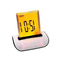 USA Multifunctional Alarm Clock w/7 Colors Thermometer LCD L