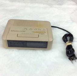 Vintage 80s Sony Dream Machine ICF-C240 Alarm Clock w/ Radio