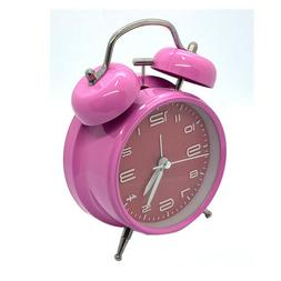 Vintage Extra Loud Alarm Clock Twin Bell Battery Analogy Bac