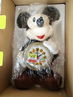 Vintage Seiko Mickey Mouse Battery Alarm Clock Disney Time