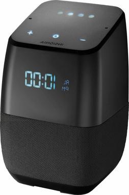 Insignia Voice Smart Bluetooth Speaker, Alarm Clock with Goo