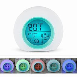 Wake Up Light Alarm Clock for Kids Child Toddler Adult, Prem