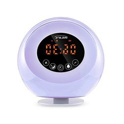 Wake Up Light Sunrise Alarm Clock 2018 Upgraded Digital LED