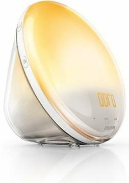 Philips Wake-Up Light Alarm Clock HF352001 Coloured Sunrise