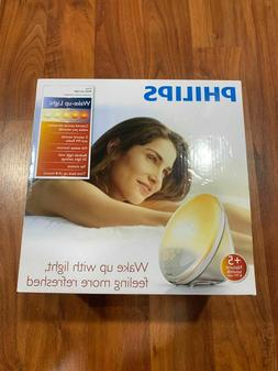 Philips Wake-Up Light Alarm Clock new in box warm yellow!!!
