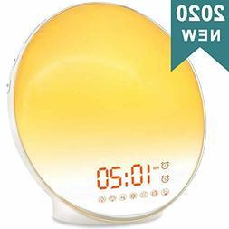 Wake Up Light Sunrise Alarm Clock for Kids, Heavy Sleepers,