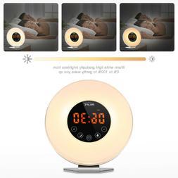 Inlife 6639 Wake-up Light Sunrise Alarm Clock with FM Radio