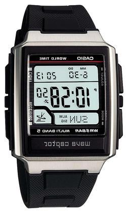 Casio Wave Ceptor WV-59J-1AJF Multiband 5 Radio Clock Mens W